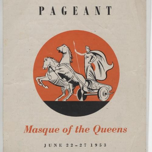 St Albans Pageant Programme Cover 1953