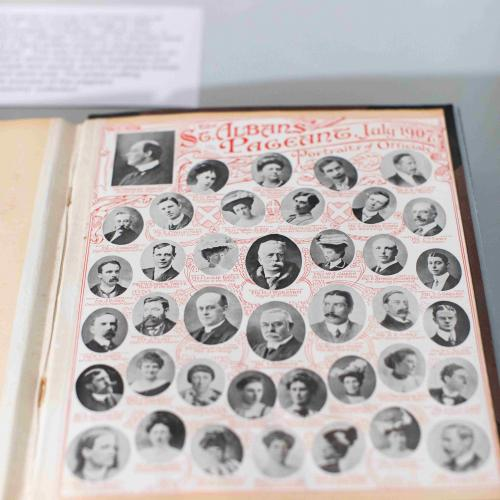 Pageant Fever - exhibition (Pageant book from 1907)