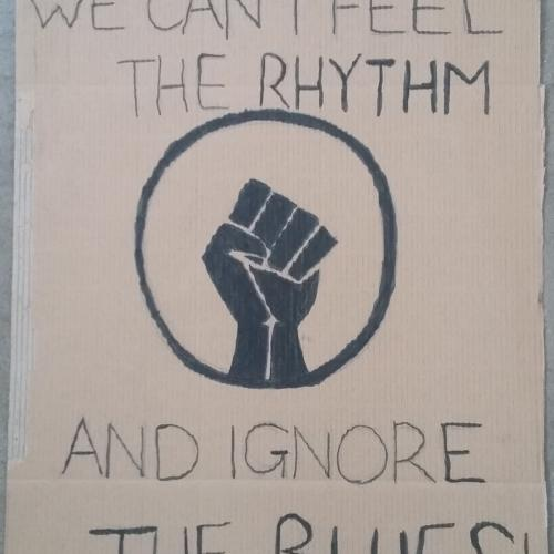 You can't feel the rhythm and ignore the blues