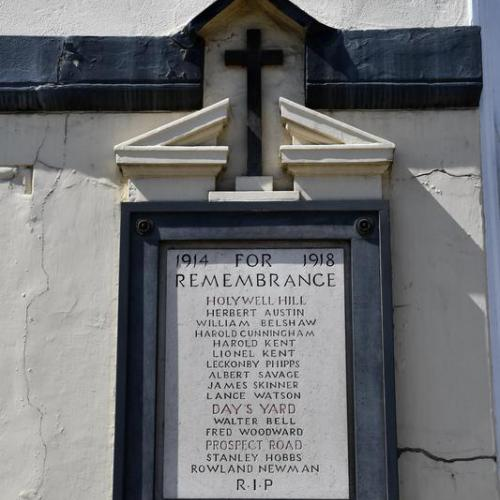 Holywell Hill Memorial