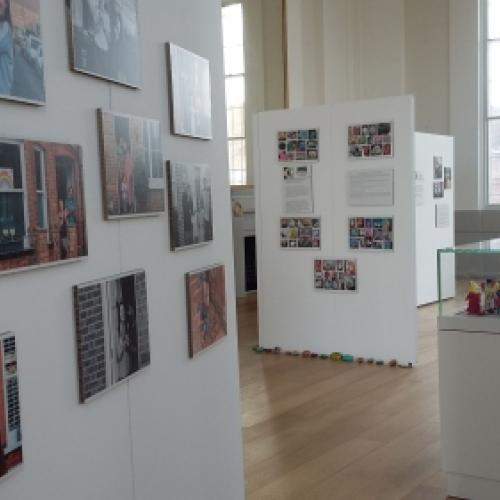 Lockdown Life exhibition showing Culver Road photographs