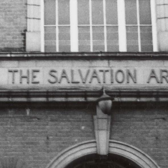 The Salvation Army Hall at 16-18 Victoria Street, 1986